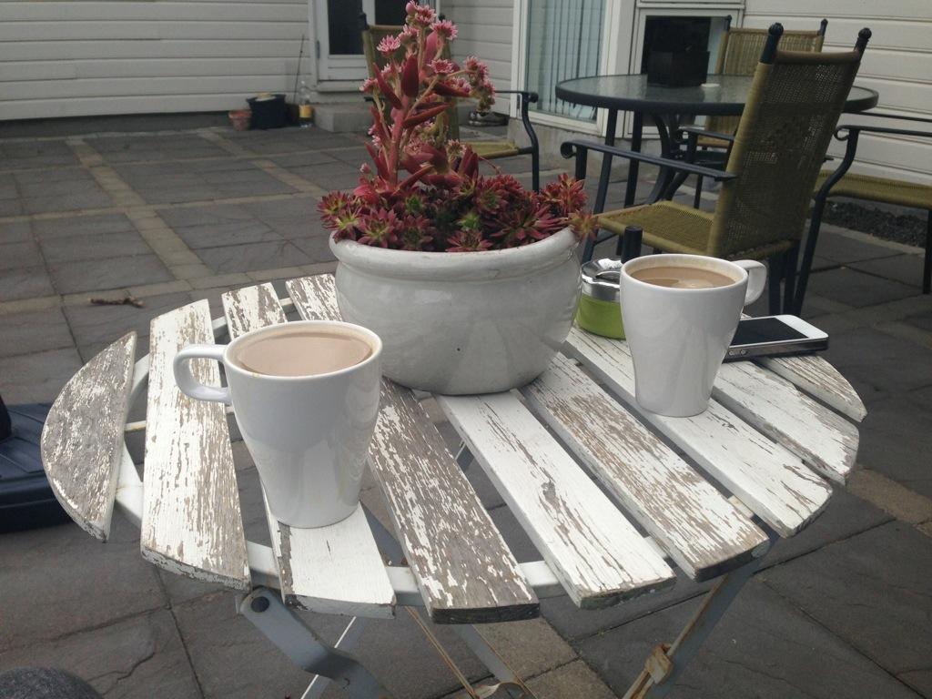 20130710 205718 Jpg - Aften Kaffe På Nyt Cafe Sæt