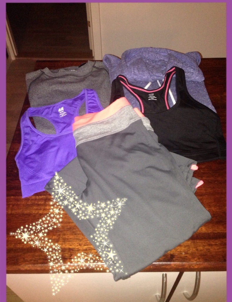 Nyt trænings tøj