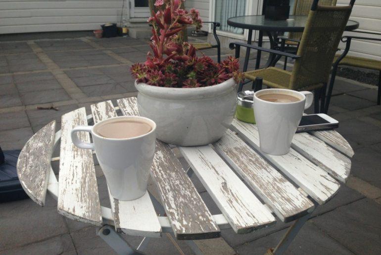 Aften Kaffe P Nyt Cafe S T