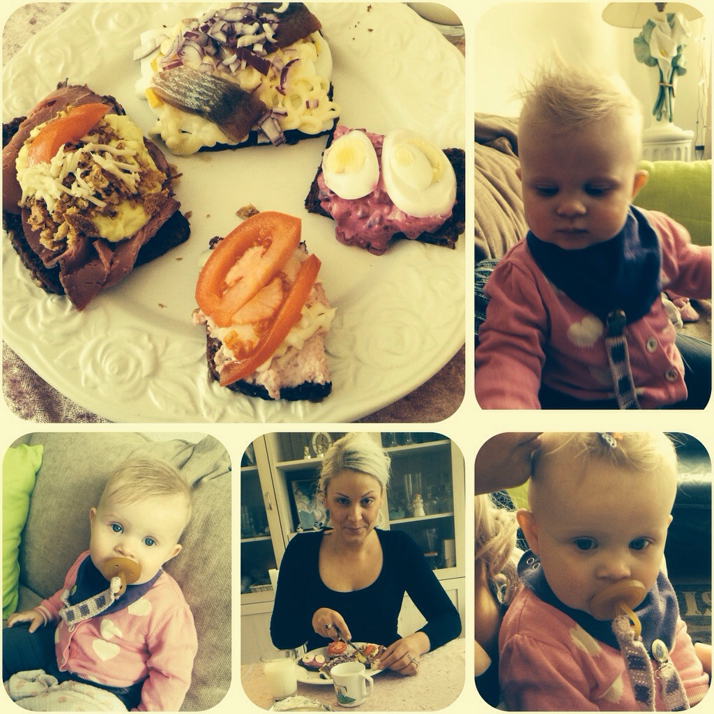 Frokost hos mor