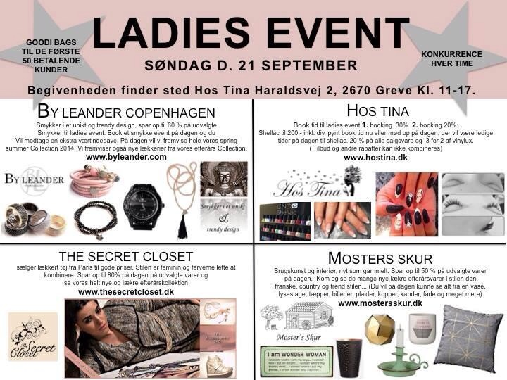 LADIES EVENT HOS TINA